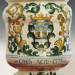 Ceramiche Castelli Collezione Glibich Vaso Officinale