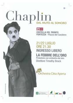 Chaplin a Civitella luglio 2010