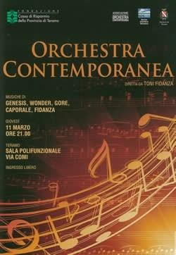 Orchestra Contemporanea marzo 2010
