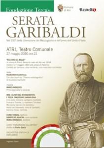 Serata Garibaldi maggio Atri 2010