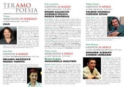 TeramoPoesia 2012 Programma