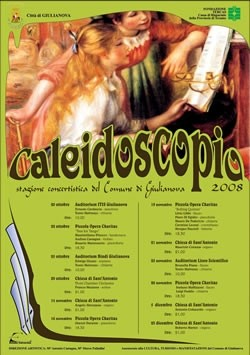CALEIDOSCOPIO Concerti Giulianova 2008