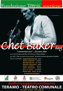 Chet Baker a Teramo maggio 2008