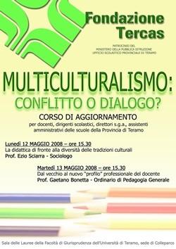 Corso Aggiornamento Multiculturalismo 2008