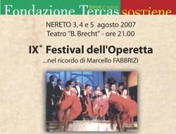 Festival Operetta Nereto 2007