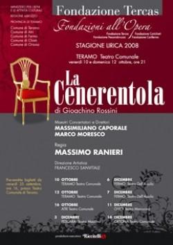 La Cenerentola Locandina 2008