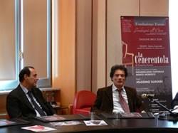 La Cenerentola Massimo Ranieri e Nuzzo in Conf Stampa