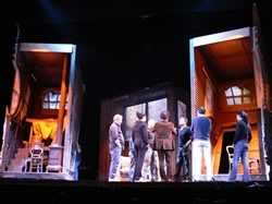 La Cenerentola prove in teatro