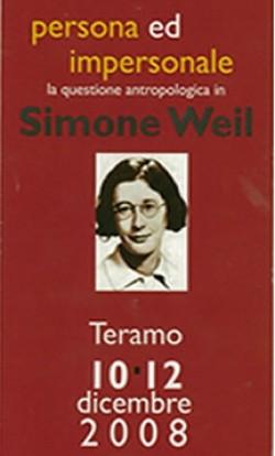 Simone Weil Convegno a Teramo dic 2008