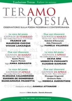 TeramoPoesia seconda edizione Locandina