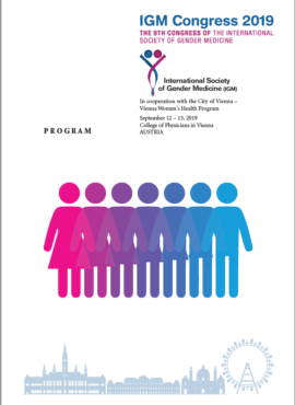 Copertina Brochure IGM Vienna 2019