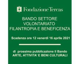 Bando Volontariato quadrato proroga 16 aprile